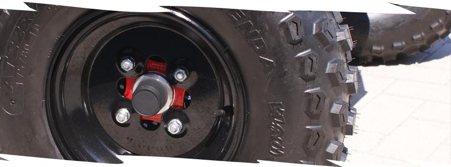 LandFighter Demolition 5.5 NERO rim and tire