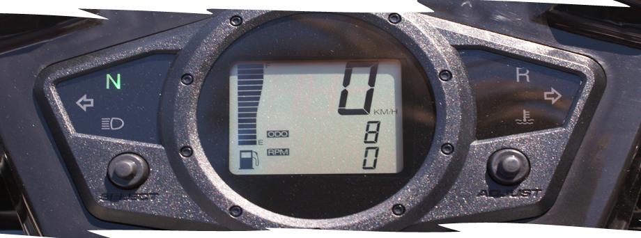LandFighter Demolition 5.5 NERO digital screen
